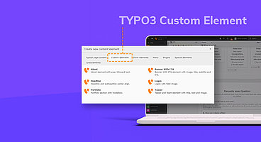 Learn TYPO3 Custom Elements with Core Ways
