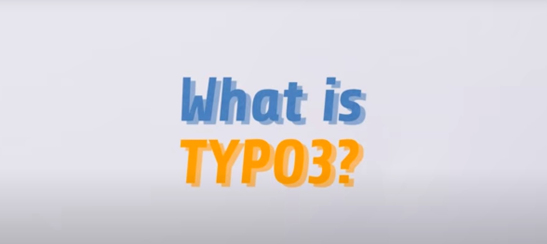 What is TYPO3 CMS?