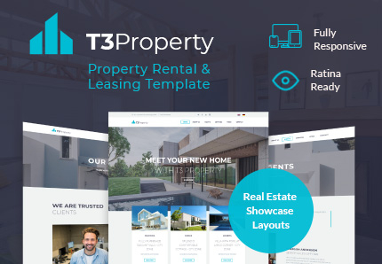 T3 Property : Real Estate TYPO3 Template